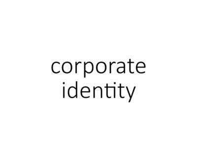 corporate identity | huisstijl